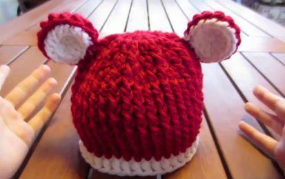 Cappelli di lana per bambini ai ferri: gli schemi [FOTO] - I cappelli di lana per bambini ai ferri sono morbidi, caldi e semplici da realizzare con il fai da te. Ecco gli schemi per creare due magnifici modelli per bimbi!