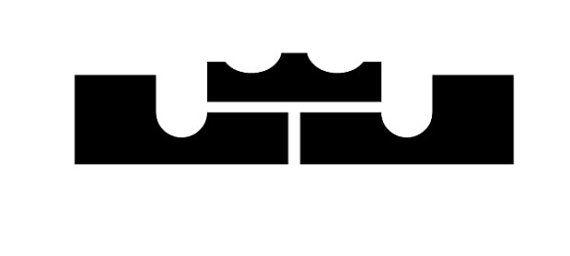 buy online a30aa 0c3fd Lebron James Logo Sticker by SupremeCut on Etsy,  5.00   Stickers   Lebron  james, Logos, King lebron james