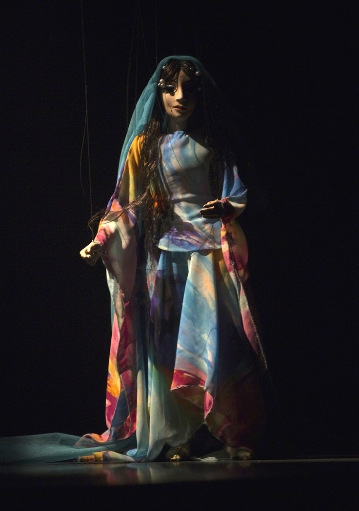 Marionette from Iranian puppet show