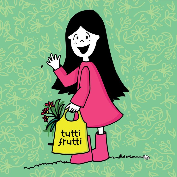 Lux hawaiana!   #lux #muñeca #pink #doll #bag #green #tuttibolsasreutilizables #ilustration #ilustracion ver mas en FB: lux la muñeca
