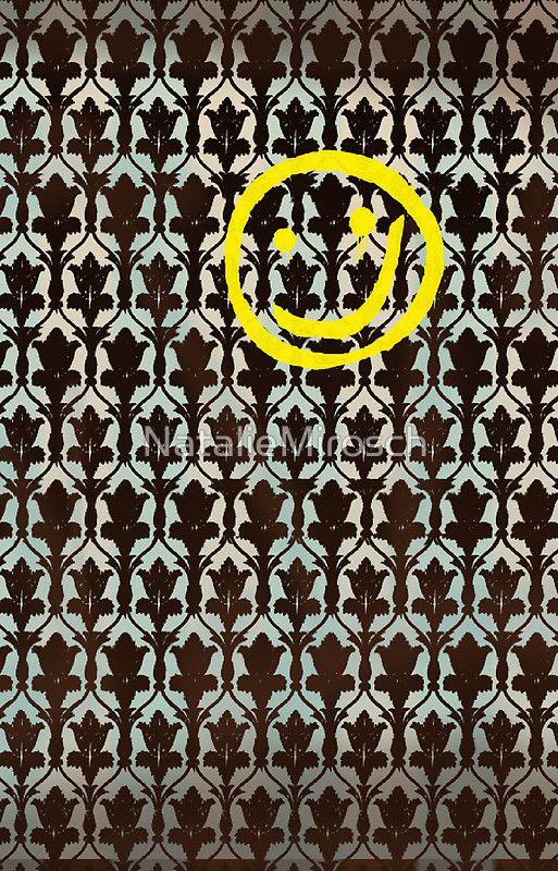 Sherlock Wallpaper iPhone Case by NatalieMirosch
