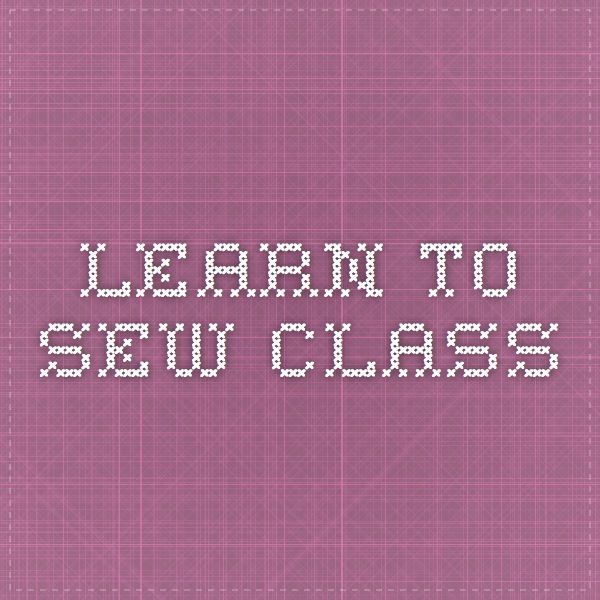 Learn To Sew This Summer With Good Housekeeping TV Classes