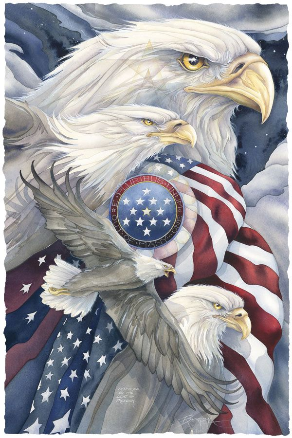 God bless the USA . . . now and forever.