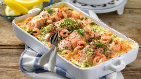 Vad kan vara godare än en krämig gratäng? Vi tipsar om smakfulla recept på gratänger fyllda med kassler, fläskfilé, kycklingfilé och korv. Gratinera gratängen med ost och krämig sås. Gratäng passar fint både som festmat och till vardags. Vad ska vi äta till middag idag? Året Runt rekommenderar att testa ett av våra goda recept på gratäng!