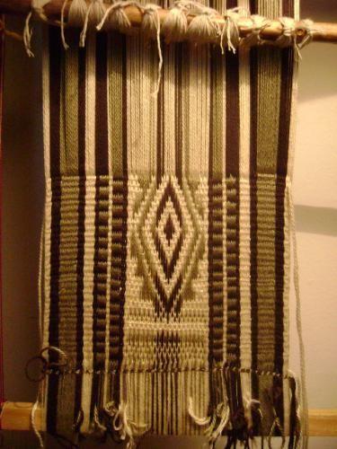 Técnica telar mapuche