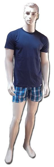 Kék nyári pizsama