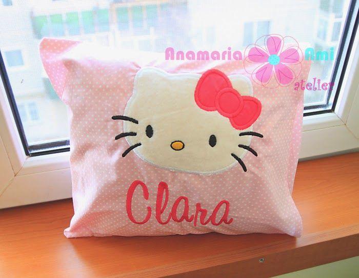 Perne brodate personalizate cu nume by Anamaria Ami Mini Minnie mouse Mickey hello kitty