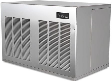 MFI2406LS Self-Contained Flake Ice Maker with Remote Low Side System Safe Water Sensor Evaporator Industrial-Grade Roller Bearings and Heavy-Duty Gear Box in Stainless Steel Finish