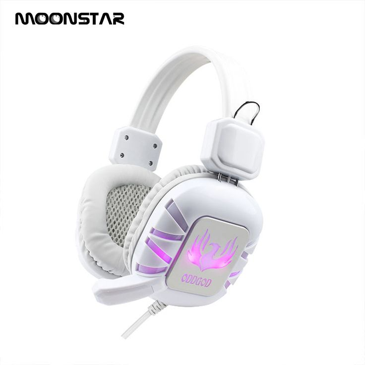 MOONSTAR Gaming headphone wired Video game Headphones fone de ouvido LED Light with Microphone 3.5mm plug for PC Computer Gamer | Headphones.Shopping | FREE WORLDWIDE SHIPPING