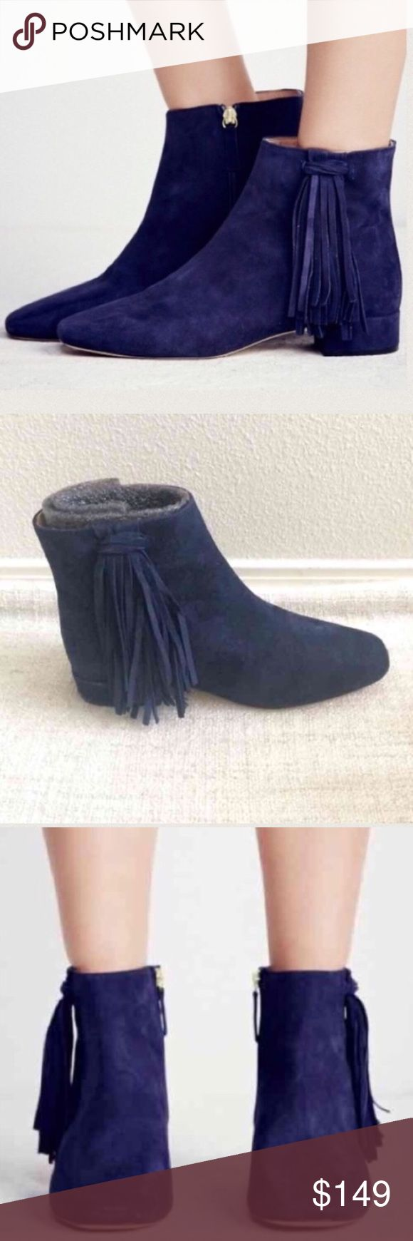 People women's new ankle  boots size 37 US 7 New with box, never worn. Hot Women's dark blue boots . Heels size 1 inches. Boots can be worn for church/ work or other things. Very comfortable shoes. Thank you for looking and please feel free to view my other items :) Free People Shoes Ankle Boots & Booties