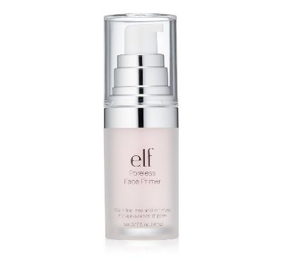 """E.l.f. pore minimizing primer. I've tried expensive stuff, but nothing works better. I sometimes use it when I don't wear makeup to soften and smooth out my skin. I have horribly large pores (thanks mom!) and this makes them nearly invisible!"" —meine11  Get it from Amazon for $8.58 or from their site for $6."
