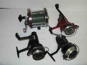 4 DIFFERENT FISHING REELS ~ CARDINAL ~ MITCHELL ETC.