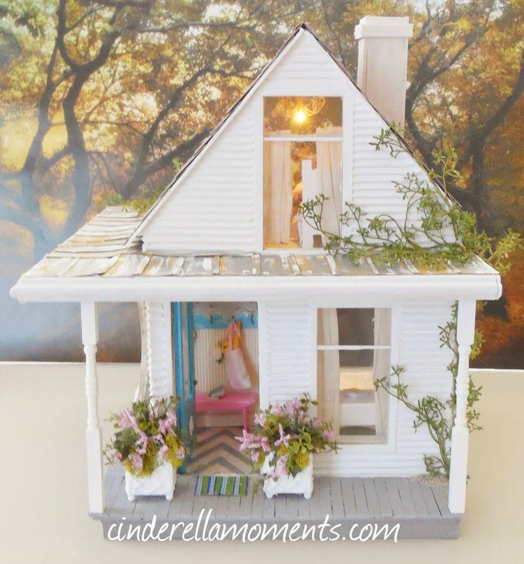 54 Best ♦Shabby Chic Dollhouses♦ Images On Pinterest