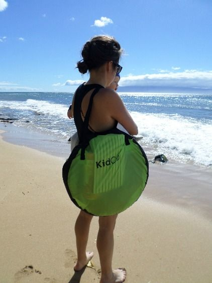 Baby beach gear ideas for a relaxing and safe day at the beach.