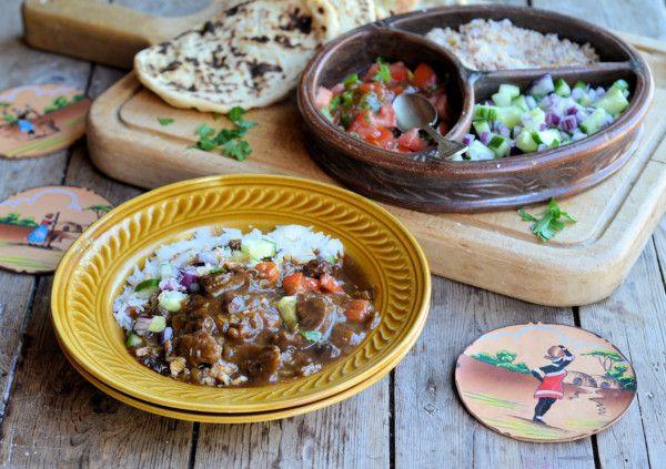 Cape Malay Beef & Fruit Curry | www.AfrikozSpices.com.au