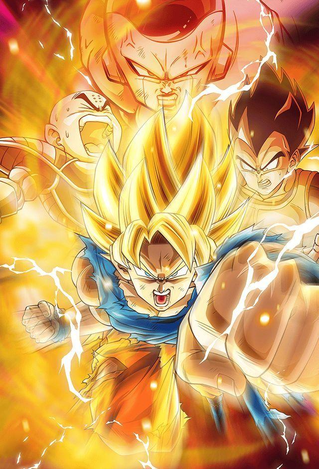 Goku Ssj Vs Frieza Card Bucchigiri Match By Maxiuchiha22 On Deviantart Anime Dragon Ball Super Dragon Ball Goku Anime Dragon Ball Goku