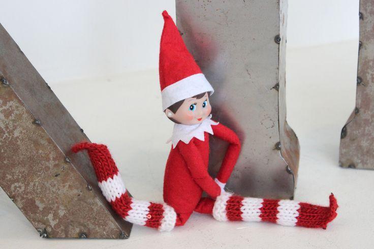 Elf On The Shelf Jumper Knitting Pattern : Elf on the Shelf Boots Knitting Pattern by Studio Knit - #ElfShelfFashion K...