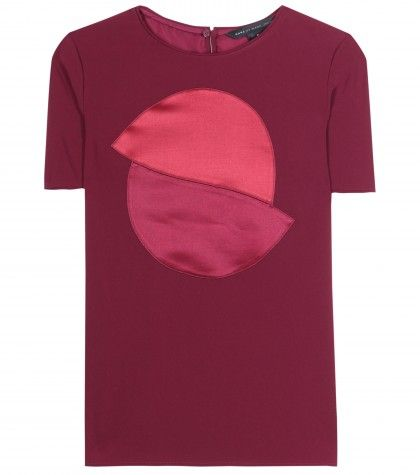 Marc by Marc Jacobs Sparks crepe top