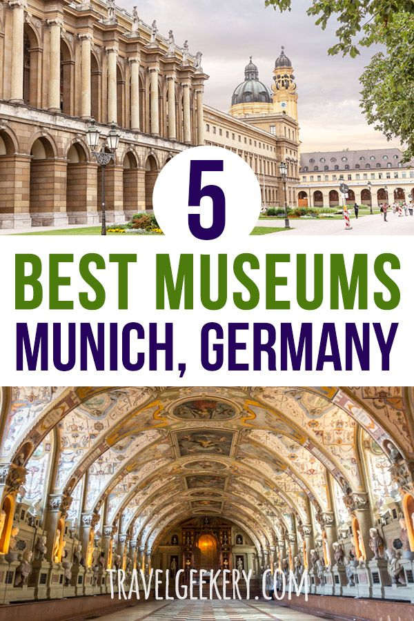 5 Best Museums In Munich Germany Europe Travel Guide Germany Travel European Travel