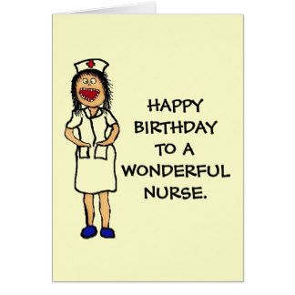 Happy Birthday Nurse | Happy Birthday Nurse Cartoon Cards Pictures to pin on Pinterest