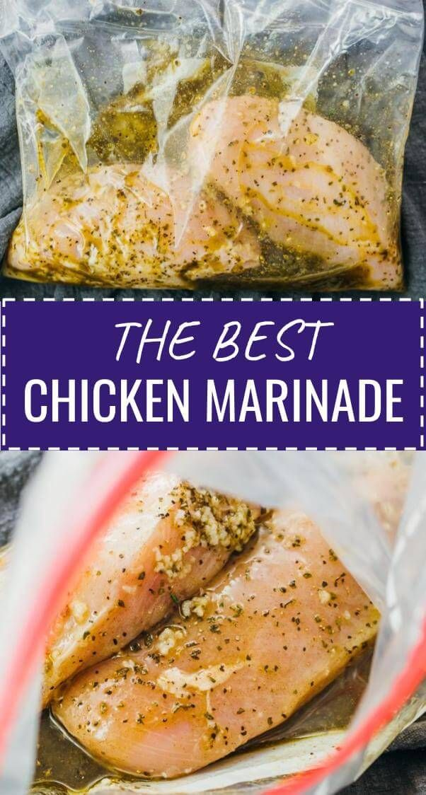This is the best chicken marinade recipe, whether you're looking to marinate chi…