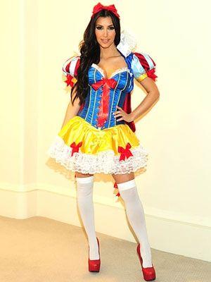 Kim Kardashian Halloween Costume Show,  Snow White