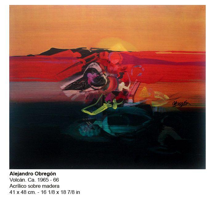 Alejandro Obregon  Volcan  Colombian  1965-6