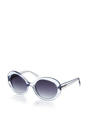 Thierry Mugler Women's TR2014 Sunglasses, Blue Crystal