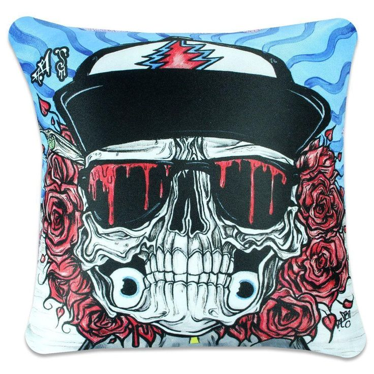 Aaron Brooks Eazy E Rider Pillow