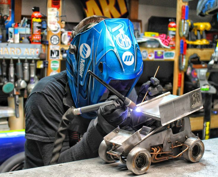 Sprint car metal art cold hard art  motorsport art sculpture welding miller welders