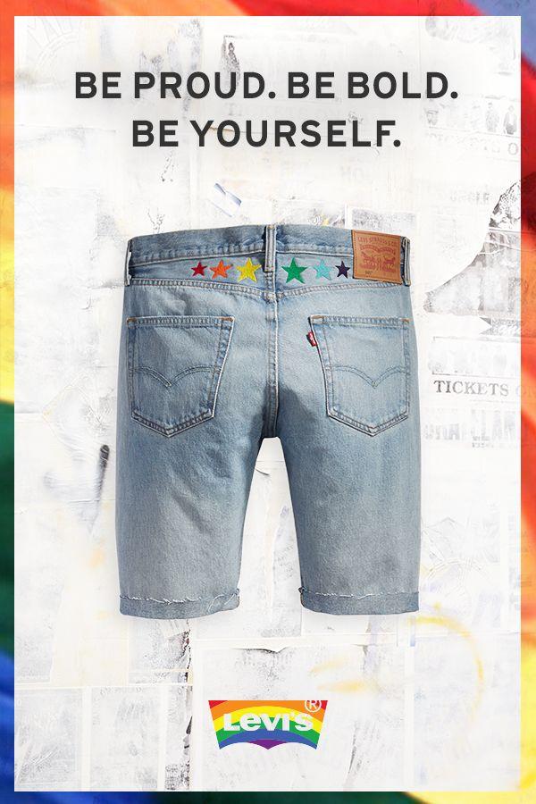 7e00baf0a6f6 Pride 501® Original Fit Cut-Off Shorts