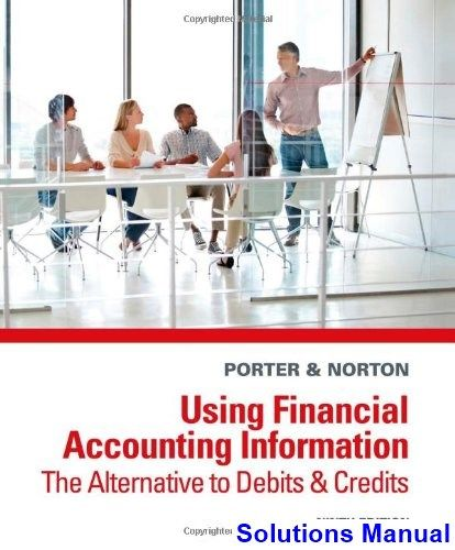 Using Financial Accounting Information The Alternative to Debits and Credits 9th Edition Porter Solutions Manual - Test bank, Solutions manual, exam bank, quiz bank, answer key for textbook download instantly!