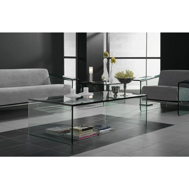 glazentafel.com | Stijlvolle glazen salontafel Roma op maat - Verkrijgbaar in uw gewenste glassoort of afmeting |