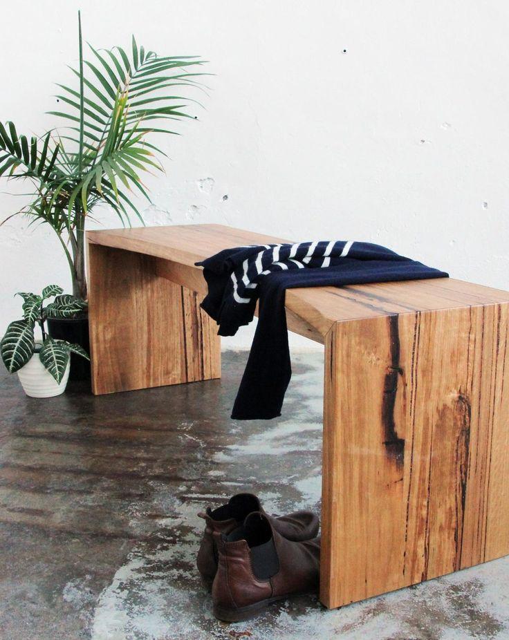 25 melhores ideias de recycled timber furniture no pinterest niagara bench waterfall edge recycled timber bench cafe bar archives recycled timber furniture malvernweather Gallery
