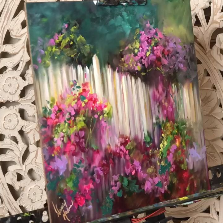 Painting Brilliant Colors With Nancy Medina Art