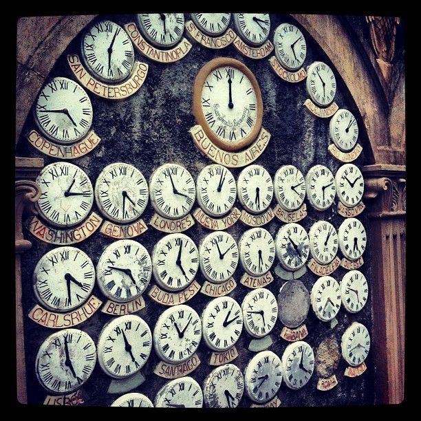 Relógios no Passatempo de Betanços, Galiza