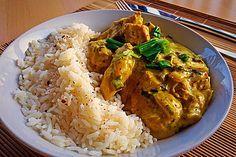 Hähnchen-Curry, ein sehr leckeres Rezept aus der Kategorie Geflügel. Bewertungen: 252. Durchschnitt: Ø 4,6.