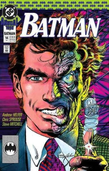 As one of the sadistic criminals in Gotham City Two-Face has proven to be one of the Batman's greatest foes. With a scarred coin that interprets the former Harvey Dent's twisted sense of justice, this
