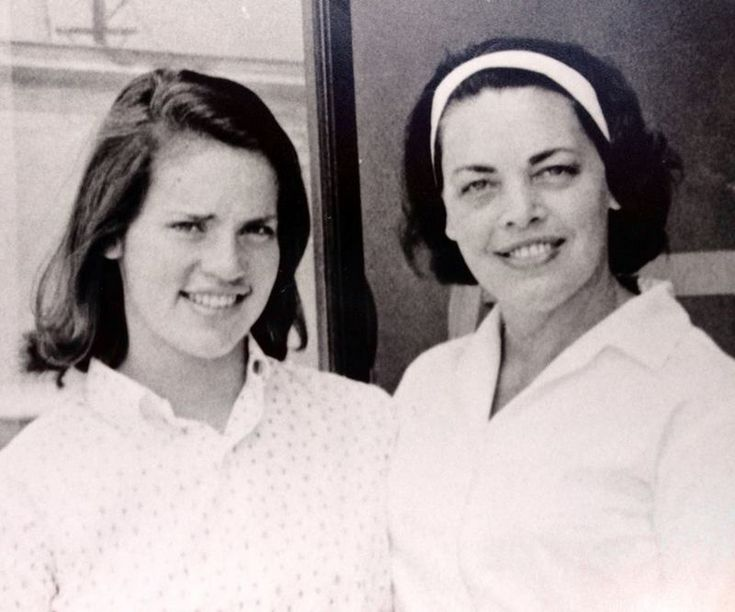 Peter Gallagher's sister Joan and mother Mary Ann Gallagher
