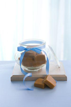 Condensemilk fudge in the micro