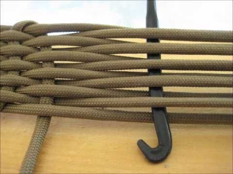 Belt の編み方: paracord belt