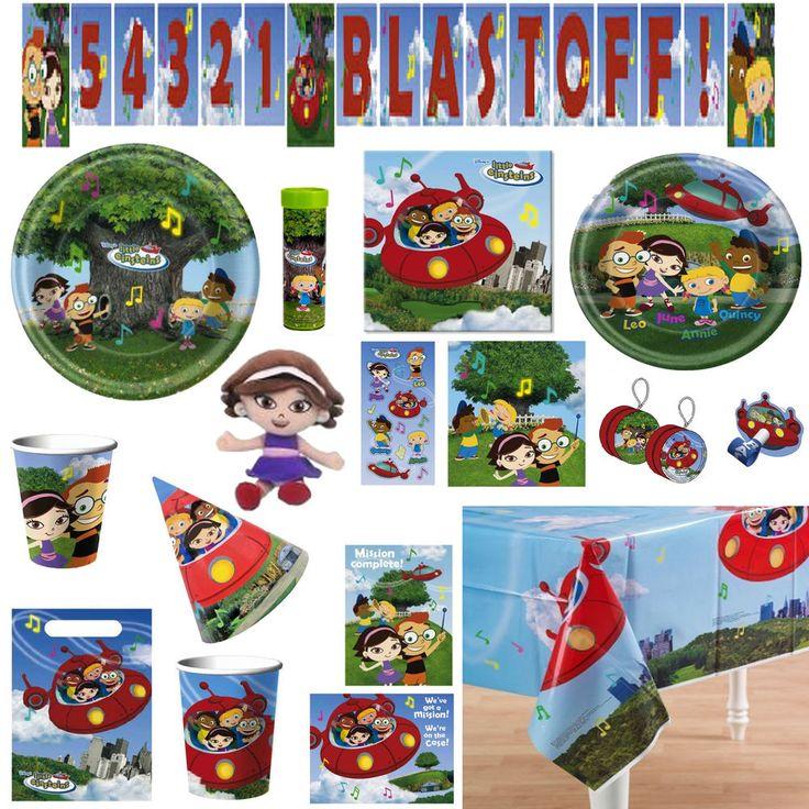 Disney LITTLE EINSTEINS Birthday PARTY Supplies ~ Create Your Own SET ~ U PICK!! in Home & Garden, Greeting Cards & Party Supply, Party Supplies | eBay
