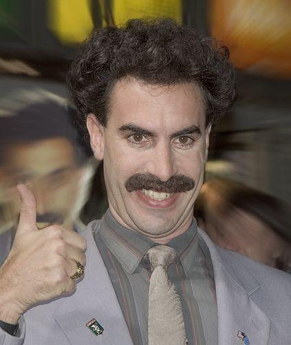 Sacha Baron Cohen aka Ali G. – http://en.wikipedia.org/wiki/Sacha_Baron_Cohen