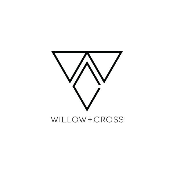 Willow + Cross Jewelry logo by Zack Baldwin, via Behance