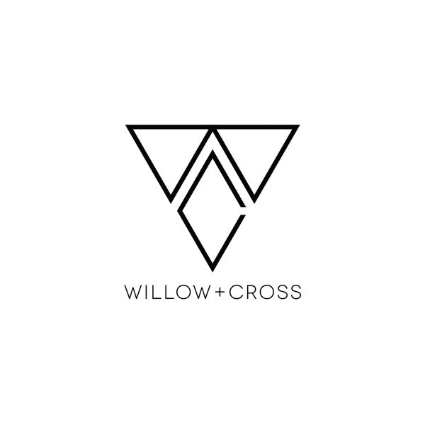 Willow + Cross Jewelry logo by Zack Baldwin, via Behance