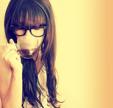 I want bangs and glasses but my mum said I would have no face then :(