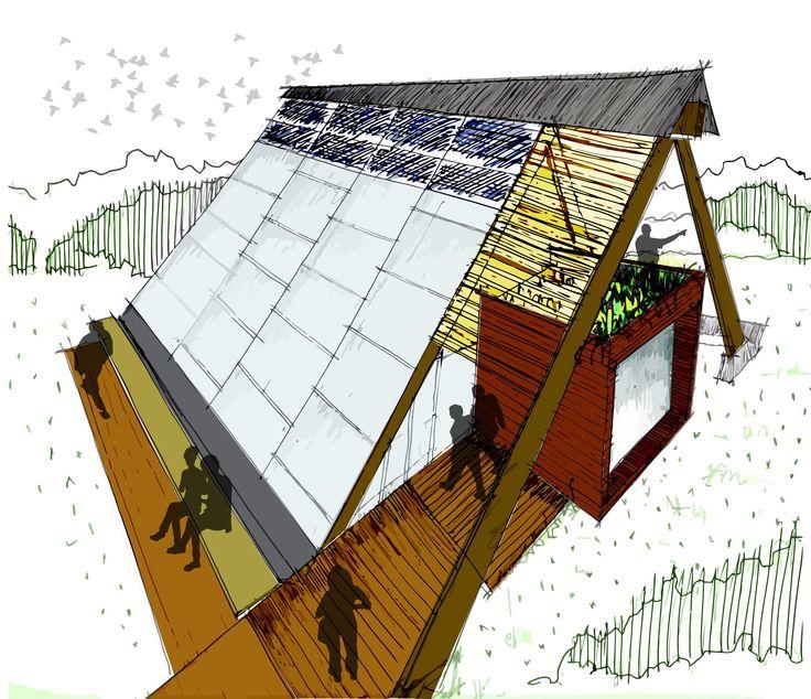 Galería - Construye Solar: Casa Atrapa Lluvia - Atrapa Sol, vivienda sustentable en una ciudad contaminada - 4