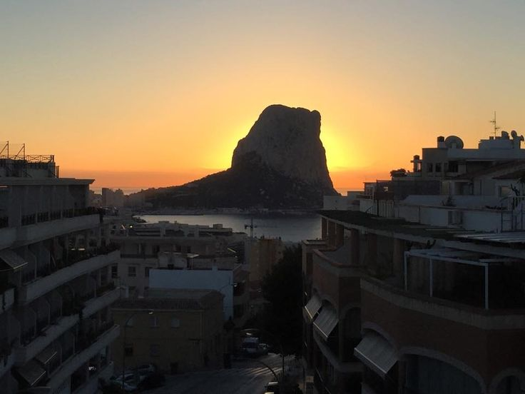 A Stunning October Sunrise Over Calpe. By Marie Noonan #SunsetsCalpe