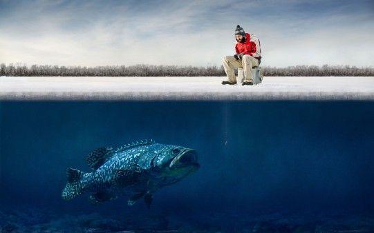 Pesca Peligrosa en Navidad - Fondos de Pantalla. Imágenes y Fotos espectaculares.