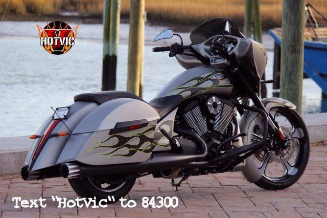 2014 VICTORY CROSS COUNTRY FACTORY CUSTOM FLAME - Murrells Inlet SC